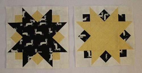 Sunburst Block 1 and 2